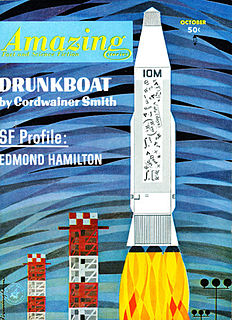 Drunkboat (short story) short story by Cordwainer Smith