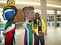 Ambiance of the World Cup with flag wearing marionette.jpg