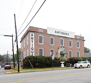National Register of Historic Places listings in Bamberg County, South Carolina - Image: American Telephone and Telegraph Company Building