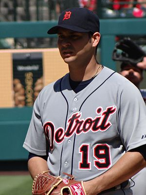 Aníbal Sánchez - Aníbal Sánchez with the Detroit Tigers in 2012
