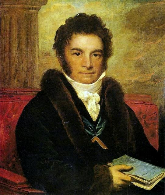 A painting of Costa, by an unknown artist