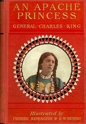 Charles King (general) - Cover of An Apache Princess  by Charles King