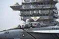 An F A-18F Super Hornet prepares to launch. (8653257612).jpg