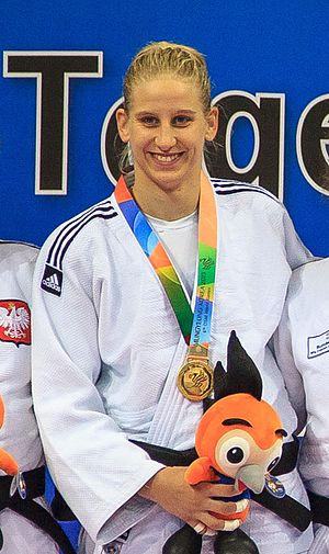 Anamari Velenšek - Velenšek at the 2015 Military World Games