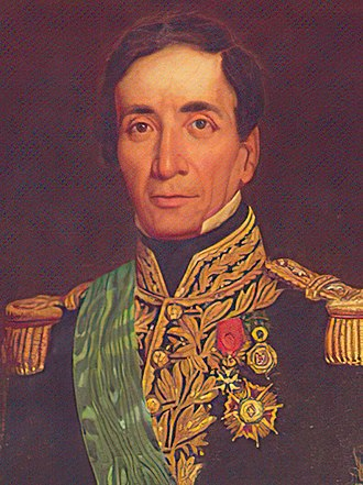 History of Bolivia (1809–1920) - Andrés de Santa Cruz y Calahumana was Bolivia's first locally-born president.