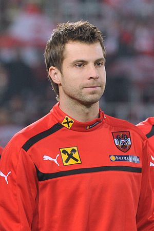 Andreas Ivanschitz - Ivanschitz before Austria's friendly match against Côte d'Ivoire in November 2012