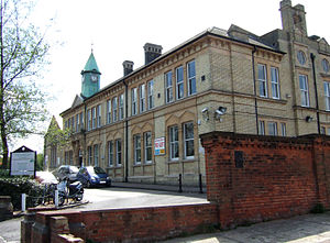 Penge Urban District - Image: Anerley Town Hall