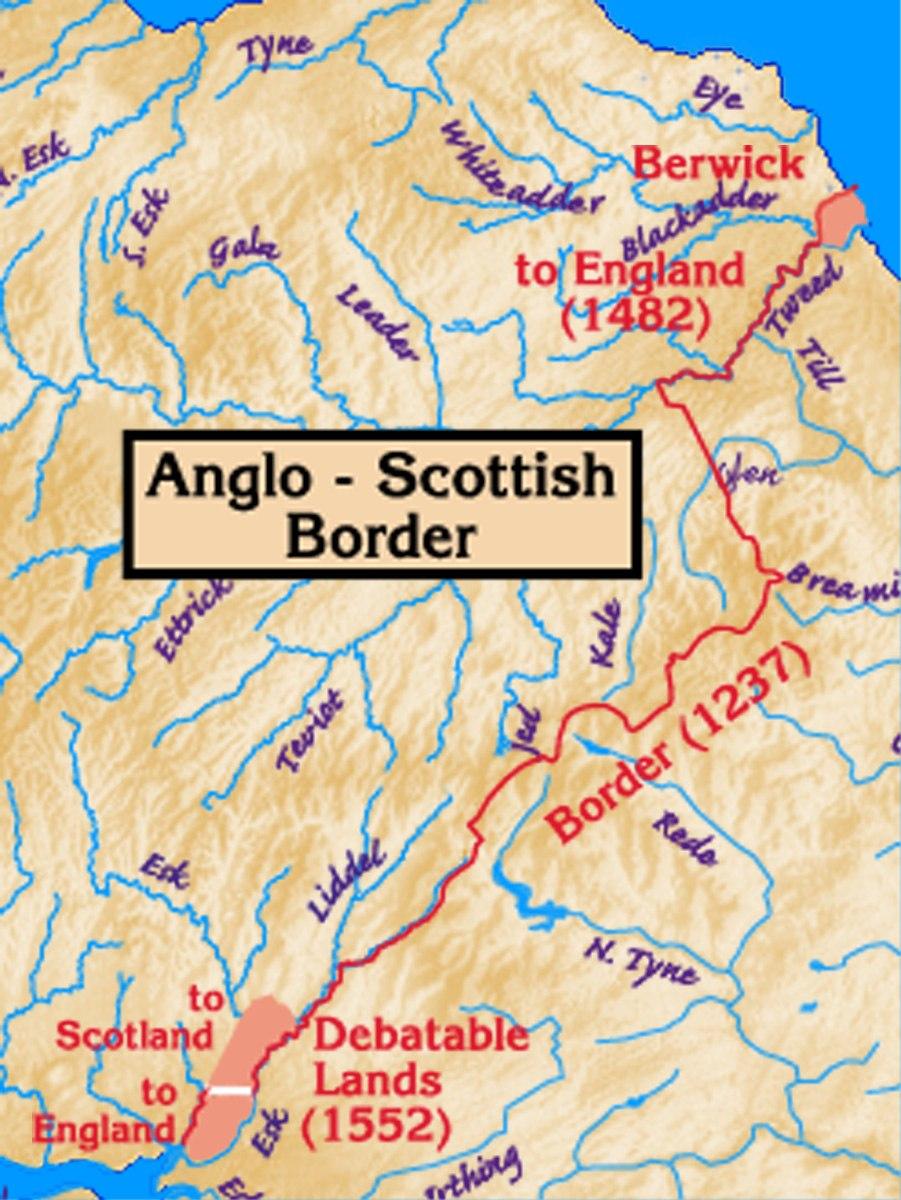 Anglo-Scottish.border.history