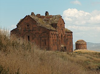 Bagratid Armenia - The Cathedral of Ani, completed in 1001 by Trdat the Architect.