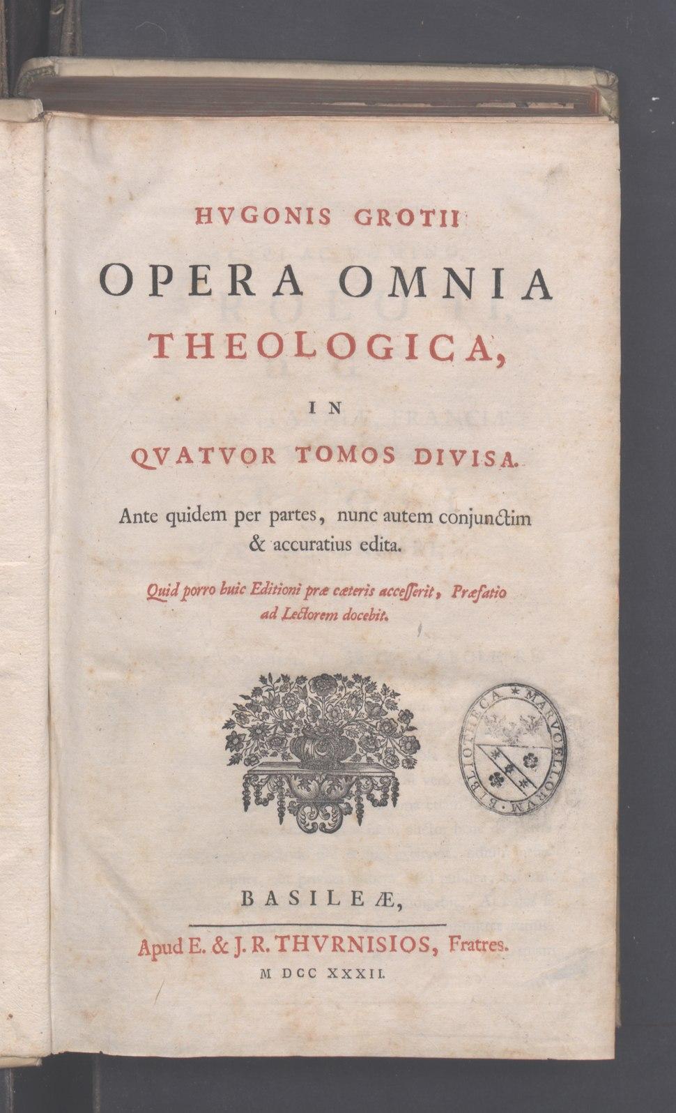 Annotationes ad Vetus Testamentum