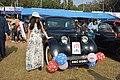 Antara Banerjee with 1946 Renault Juvaquatre - 1003 cc - 4 cyl - WBC 8980 - Kolkata 2018-01-28 0833.JPG