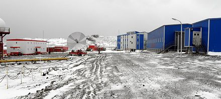The Great Wall Station in 2011 Antarctic Great Wall Station.JPG