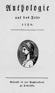 <i>Musen-Almanach</i>