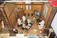 Antique toy schoolhouse for Teddy bears (26952828435).jpg