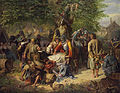 Anton Dvorak Nach der Plünderung 1848.jpg