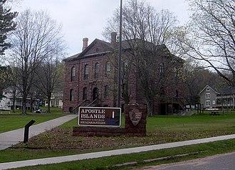 Bayfield, Wisconsin - Image: Apostle Island National Lakeshore WI 040 050507