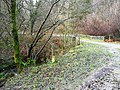 Approaching Cwm Gwyddon bridge - geograph.org.uk - 654753.jpg