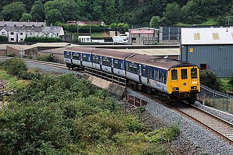 Belfast–Larne line - NI Railways Class 450 at Larne.