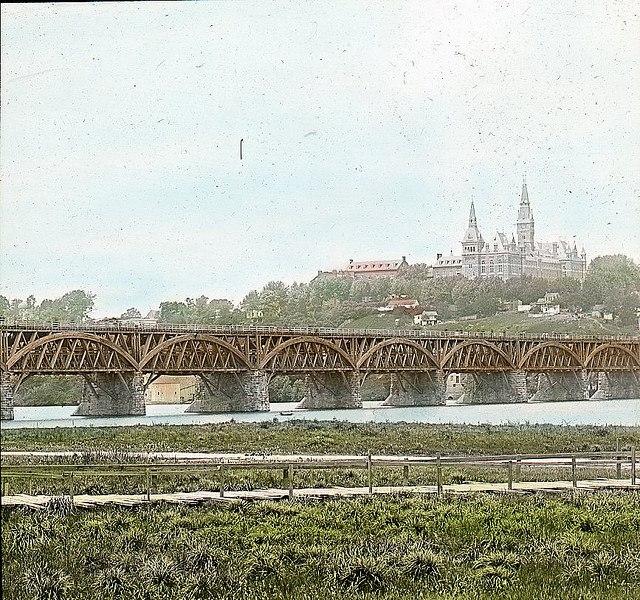 Aqueduct Bridge - c 1900 - Washington DC