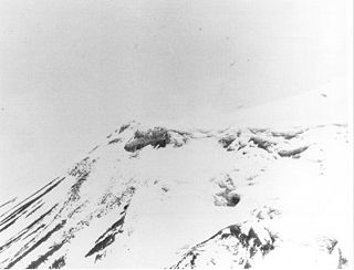 Ararat anomaly object appearing on photographs of the snowfields near the summit of Mount Ararat, Turkey