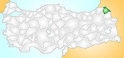 Ardahan Turkey Provinces locator.jpg