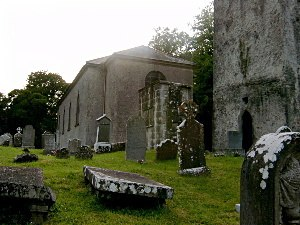 Ardbraccan - St. Ultan's Church of Ireland The 18th century building was deconsecrated in 1981 by the Church of Ireland, ending over 1400 years of religious worship on the site. To the right of the picture is the thousand year old church tower.