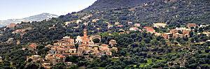 Aregno - Image: Aregno panorama