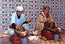 Produzione Tradizionale dell'olio di argan