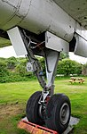 Argosy main undercarriage detail, Midland Air Museum, Coventry and Warks. Show 2016. (30635507726).jpg