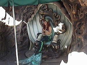 Ariel's Grotto - Image: Ariel's Grotto, Fantasyland, Disneyland, Anaheim, CA, 2008.08.08 16 37, 3Dl dsc 08598