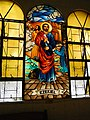 Aringay Church's stained glass window of Ezekiel.jpg