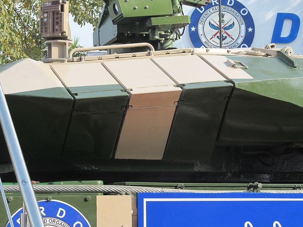 Arjun Mk II turret protection
