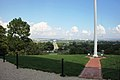 Arlington National Cemetery - looking E at DC from Arlington House - 2011.jpg