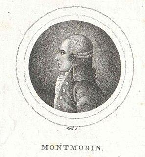 Armand Marc, comte de Montmorin French diplomat