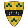 Armorial Bearings of the CLARKE family of The Hill, Walford, Herefordshire.png