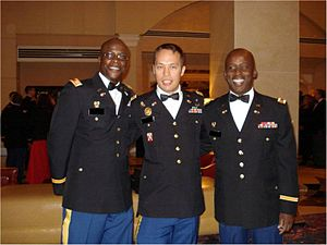 United States Army Cyber Command - Officers assigned to the U.S. Army Cyber Command attend an Army Cyber Ball on 22 October 2011.