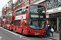 Arriva London HV143 on Route 59, Brixton Station (14238507737).jpg
