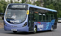 Arriva Southern Counties 4306 on Fastrack A, Bluewater (20894624865) (cropped).jpg