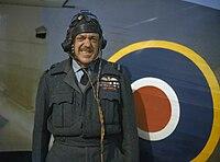 Arthur Barratt and Hurricane IWM TR 242.jpg