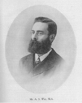 Arthur Way - Image: Arthur Sanders Way (1847–1930)