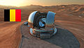 Artist's impression of the European Extremely Large Telescope (E-ELT) in its enclosure on Cerro Armazones.jpg