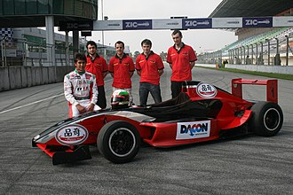 Asia Racing Team - ART management with racing driver Sandy Stuvik.