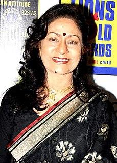 Aruna Irani Indian actress