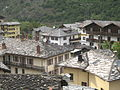 Arvier (Aosta, Italy), view form the Castle, 2014.jpg