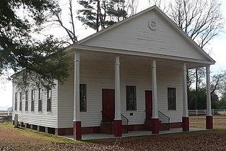 Asbury Methodist Church (Raynham, North Carolina) - Asbury Methodist Church, December 2014