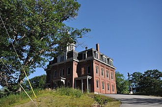 National Register of Historic Places listings in Grafton County, New Hampshire - Image: Ashland NH Former Jr High School
