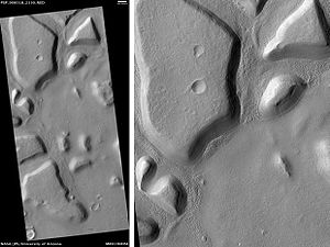 Nilosyrtis Mensae - Image: Astapus Colles