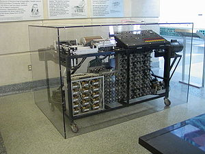 John Vincent Atanasoff - 1997 replica of the Atanasoff–Berry Computer at Durham Center, Iowa State University