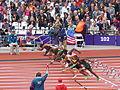 Athletics at the 2012 Summer Olympics – Men's 100 metres, Preliminaries heat 1 (6).JPG