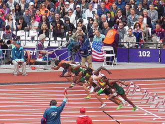 Athletics at the 2012 Summer Olympics – Men's 100 metres - Heat 1